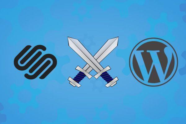 squarespace ou wordpress